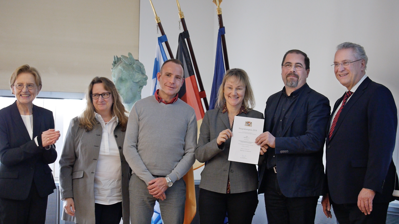 Regierung von Oberbayern vergibt einen von sechs Integrationspreisen an den H-TEAM e.V. München.