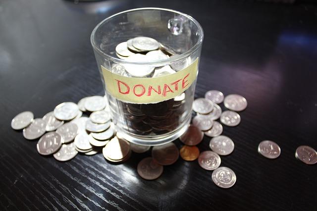 Wir benötigen ihre Geldspenden!